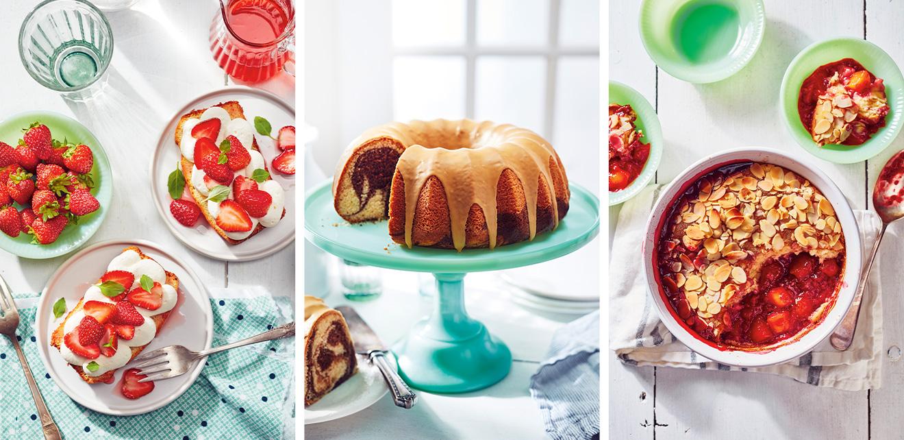 1 gâteau à la vanille, 5 façons de se faire plaisir