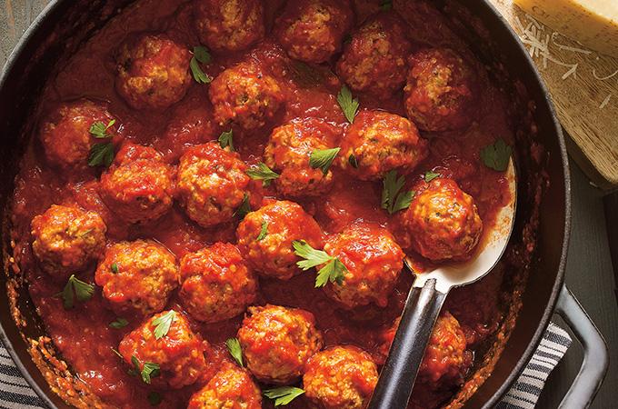 Boulettes de viande à la sauce tomate (les meilleures)