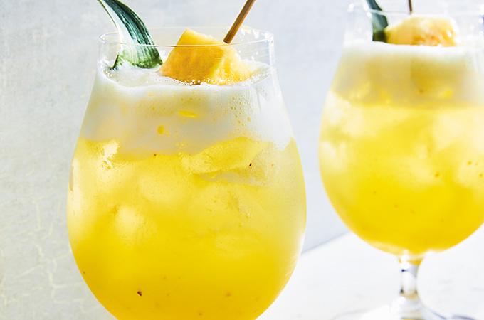 Mocktail «ananas sureau fizz»