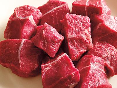 Cubes de viande