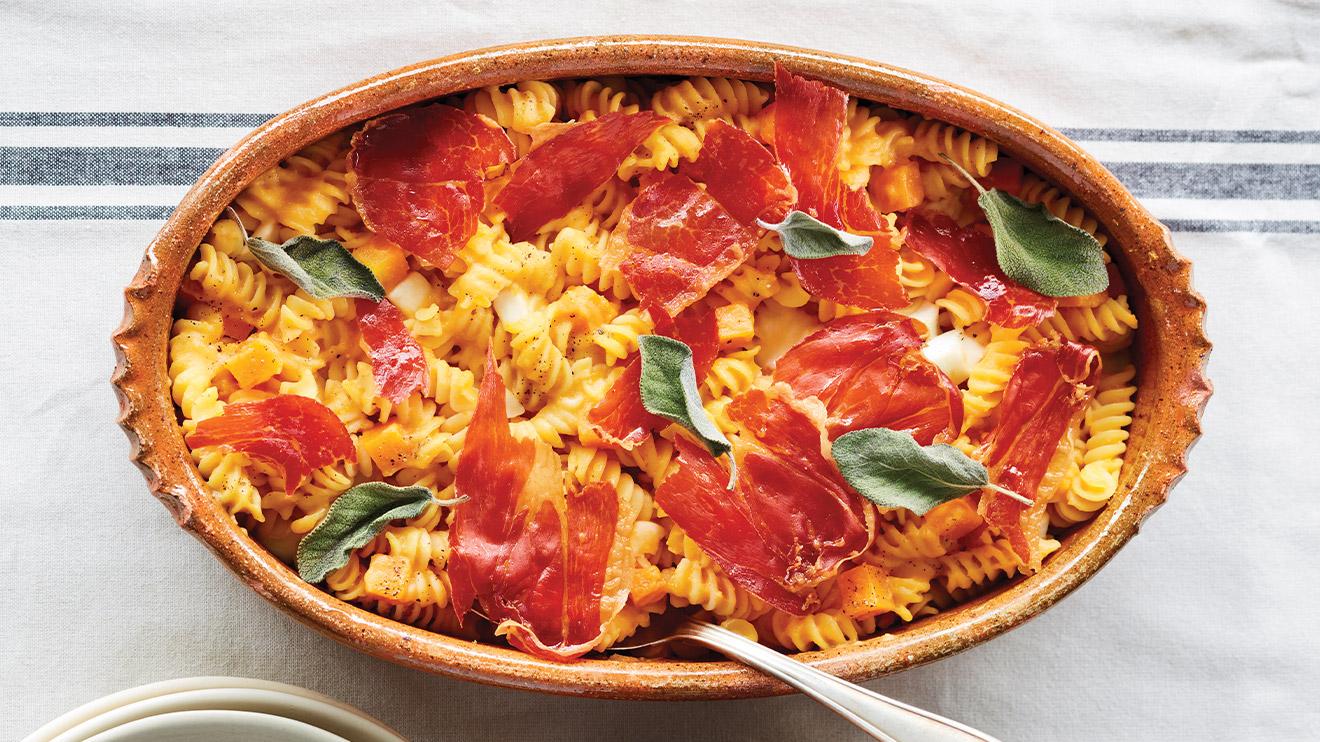 https://www.ricardocuisine.com/en/recipes/8101-squash-and-crispy-prosciutto-fusilli