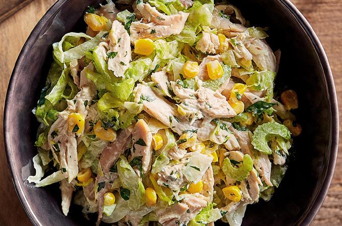 Salade de poulet Buffalo