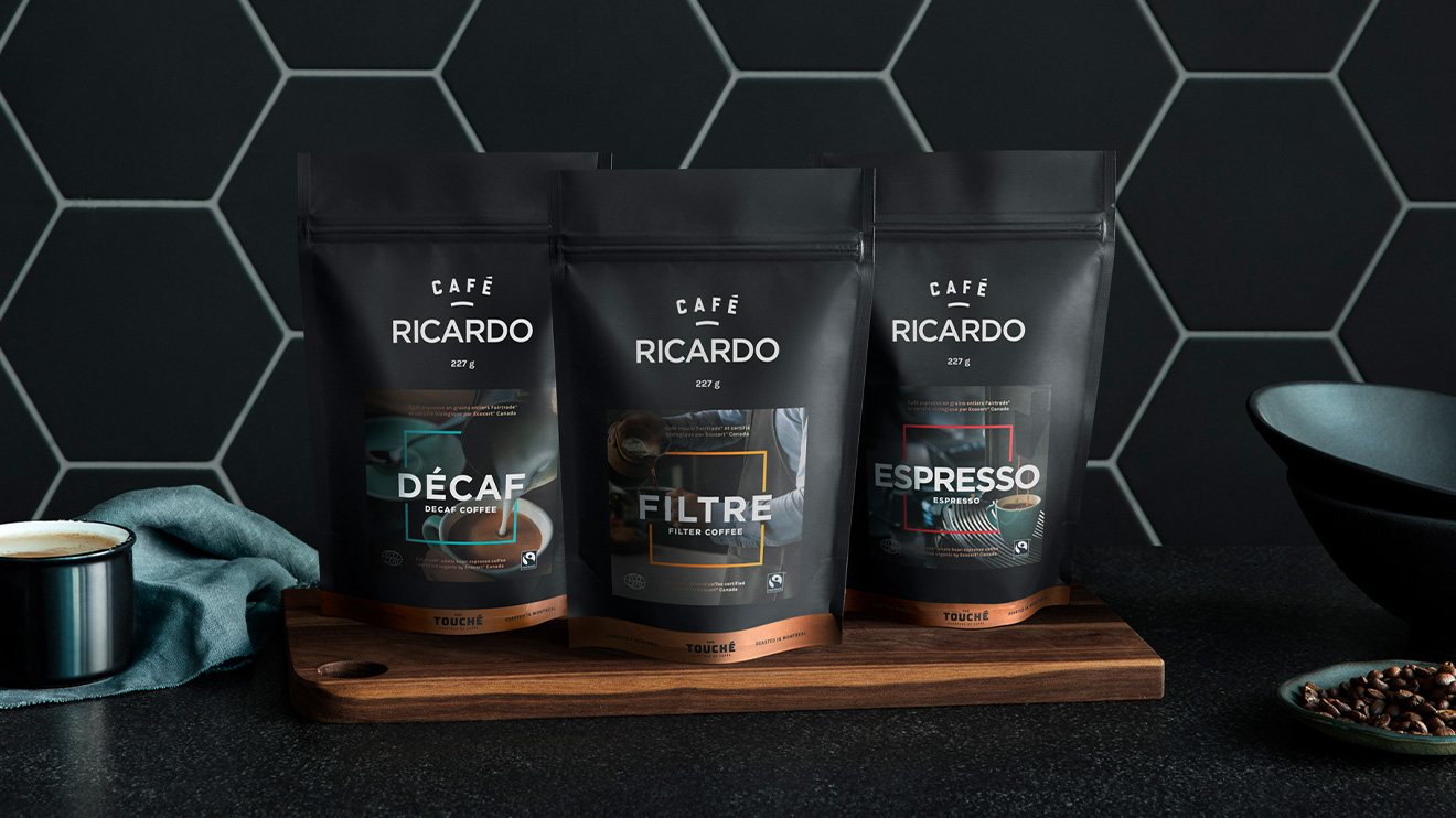 Cafés de la gamme RICARDO