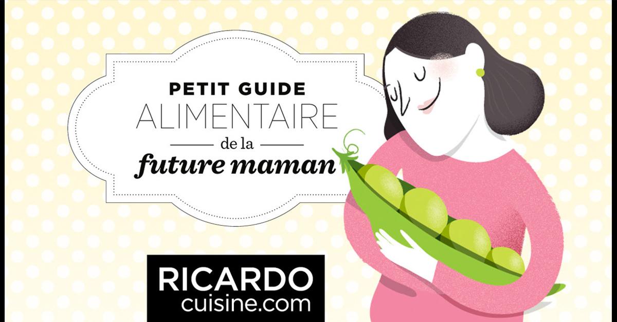 Préférence Guide alimentaire de la future maman | Ricardo BX14